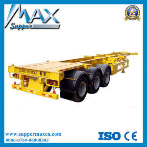 40f 3 Axle Skeletal Trailer/Semi Trailer/Vietnam Skeletal Trailer pictures & photos