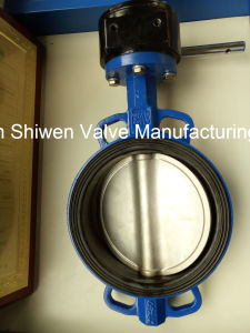 Qt450 Non-Backed Wafer Type Butterfly Valve with Ss Disc pictures & photos