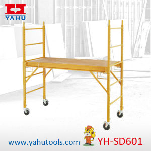 Multipurpose 6-Ft. Baker Style Scaffold with 5′′ Double Lock Caster pictures & photos