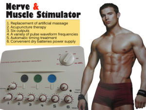 Nerve & Muscle Stimulator with Massage, Tens Relief, Accupuncture in One Bk112