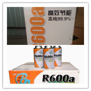 High Quality R600A Refrigerant in Disposable Cylinders for Air Conditiner and Refrigerator