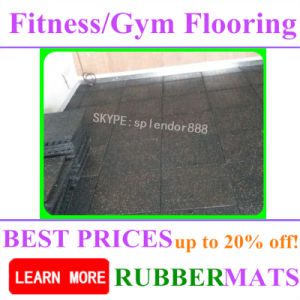 Seamless Colorful Cheap Rubber Mats for All Kinds Flooring pictures & photos