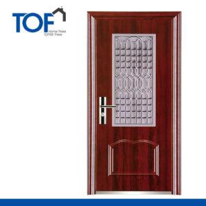 Exterior Decorated High Quality Security Steel Door