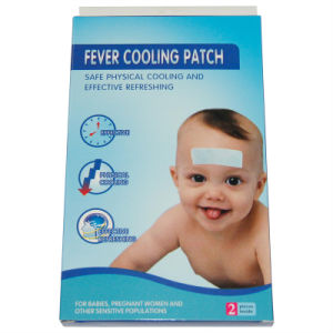 Fever Cooling Patch Made of Non-Woven Fabric (XMCP004)