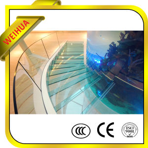 Lt 10mm 12mm 15mm Thick Custom Size Tempered Frameless Glass Railing Design with Price pictures & photos