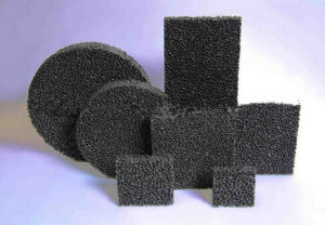 Sic Ceramic Foam Filters Foundry Filters Iron Casting Filters pictures & photos