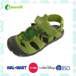 TPR Sole with PU and Colorful Upper, Children′s Sandals pictures & photos