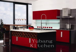 Baked Paint Kitchen Cabinet (M-L89) pictures & photos