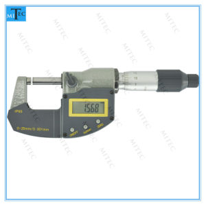 IP65 Water Proof Electronic Digital Micrometer (3 buttons) pictures & photos