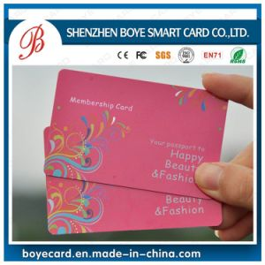 PVC Cr80 Standard Plastic VIP Member Card for Supermarket pictures & photos