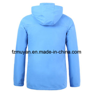 Soft Shell Thick Waterproof Jacket Windbreaker pictures & photos