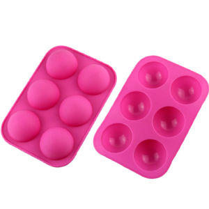 Food Standard Heart Shaped Silicone Ice Cube Tray (H-SIC-001) pictures & photos