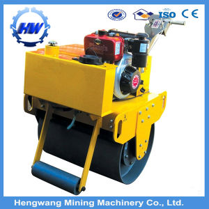 Vibratory Walking Type Double Steel Wheel Road Roller pictures & photos