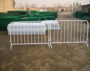 Barrier Stand Crowd Control/Metal Barricade/Powder Coating Traffic Barrier pictures & photos