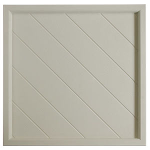 White FRP Tile Look 3D Waterproof Wall Panel pictures & photos