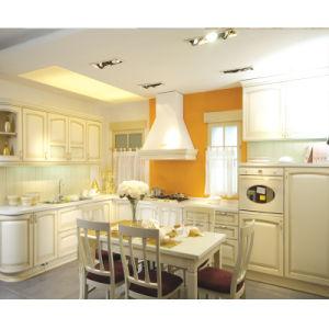 White Blum Hardware Wood Kitchen Furniture pictures & photos