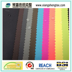 PVC Coated Polyester Printed Fabric for Bag or Luggage pictures & photos