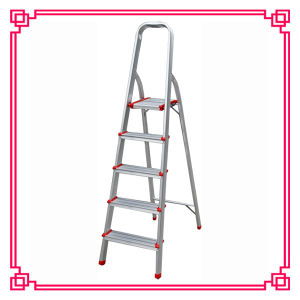 Household Aluminum Climb Ladder/Folding Step Ladder pictures & photos
