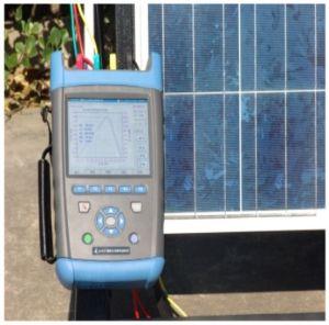 AV6592 Portable PV Solar Module IV Tester