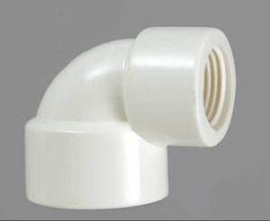 PVC-U Theraded Fittings Reduced Elbow pictures & photos