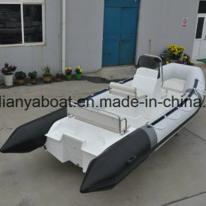 Liya 17ft China Military Rigid Hull Inflatable Rib Boat Manufacturers pictures & photos