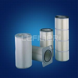 Antistatic Polyester Dust Collector Filter Cartridge Lfk 3266 pictures & photos