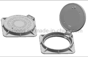 Manhole Cover and Frame (D400 clear open 600mm) pictures & photos