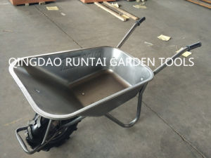 Qingdao Made Top Quality Durable Strong Cheap Wheelbarrow (WB5009) pictures & photos