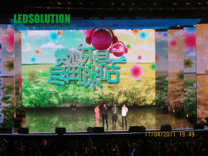 P12.5 Outdoor LED Curtain Display for Stage Fixed Installation or Rental Using pictures & photos