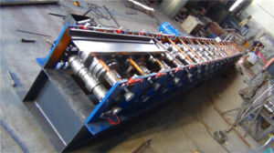 Strong Steel Door Frame Roll Forming Machine with PLC pictures & photos