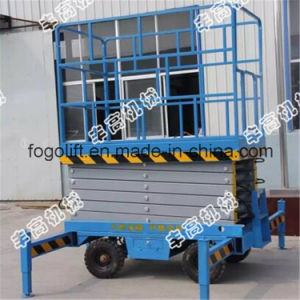 4m Mobile Scissor Lift / Passenger Lift pictures & photos