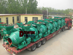 350L Electrical Diesel Engine Drum Mixer Wire Lifting on Sale pictures & photos