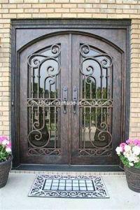 Steel Double Entrance Doors Luxury pictures & photos