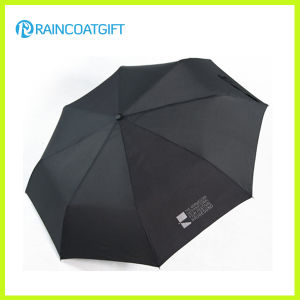 Promotional Advertising 3 Folding Umbrella Rum-086A pictures & photos