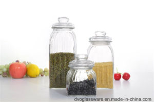 Glass Storage Canister with Glass Lid