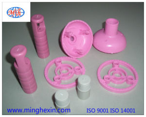 Pink Plastic Mophead Component with ISO SGS