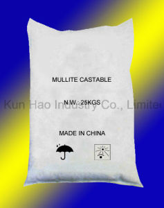 Light Weight Mullite Refractory Castables pictures & photos