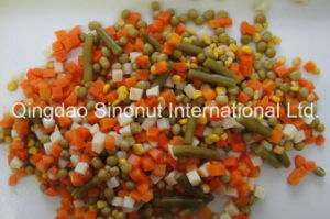 Canned Mixed Vegetables (5 kinds vegetables mixed HACCP ISO BRC) pictures & photos