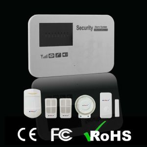 Voice Prompt Wireless GSM Burglar Alarm with New Case pictures & photos