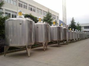 Food Sanitary 2000L Dairy Milk Fermentation Tank pictures & photos