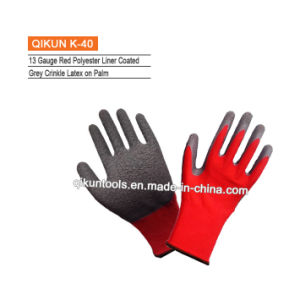 K-10 Full Cow Leather Full Palm Working Gloves pictures & photos