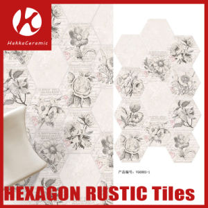 Mixed Color Hexagon Porcelain Wall Tile with High Quality Mosaic Tiles pictures & photos
