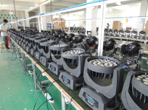 36*10W 4in1 Stage Lighting LED Moving Head Zoom Wash pictures & photos