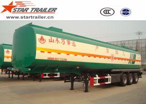 3 Axles Carbon Steel Liquid Tanker Semi-Trailer pictures & photos