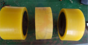 Tfp Yellow Custom Make Polyurethane Roller Supplier pictures & photos