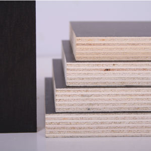 (Red, Brown Black) Film Faced Plywood pictures & photos