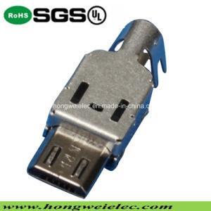B Type Male Three-Piece Socket Micro USB Connector