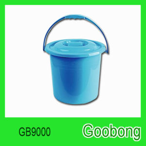 18L Round Plastic Bucket with Lid