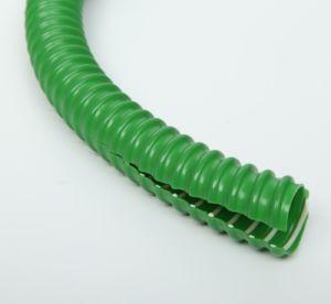 Green PVC Reinforcement Hose pictures & photos