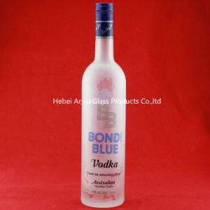 Manufacturer 750ml 1000ml 1750ml Glass Bottles Luxury Vodka Bottle Super Flint Glass Wine Bottles pictures & photos